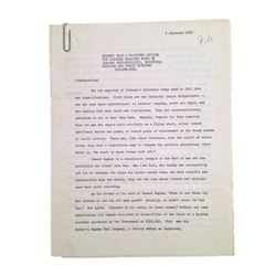 Collier's Magazine Howard Hughes Handwritten Revisions