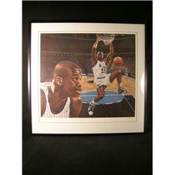 Shaquille O'Neal Framed Drawing