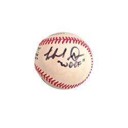 Michael Dorn Signed Baseball