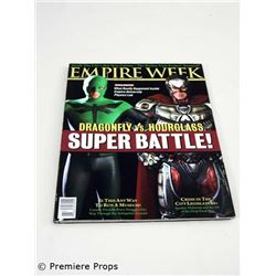 Superhero Movie Empire Week Magazine Movie Props