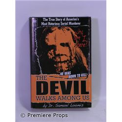 Halloween II Dr. Samuel Loomis' (Malcom McDowell) The Devil Walks Among Us Book Movie Props