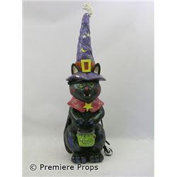 Halloween II Cat Statue Movie Props