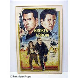 Broken Arrow Christian Slater/John Travolta Painted Poster