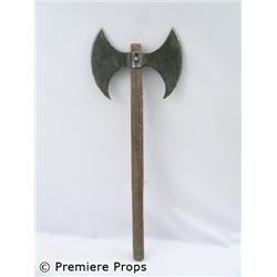 Outlander Double Headed Axe Movie Props
