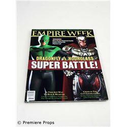 Superhero Movie Empire Week Magazine Movie Props