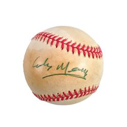 Colm Meaney Signed Baseball