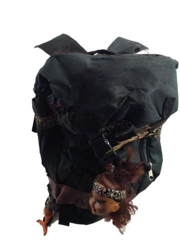 Resident Evil The Final Chapter Abigail Ruby Rose Backpack