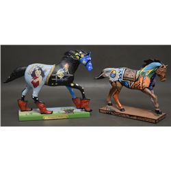 TWO PAINTED PONIES