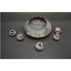 COLLECTION OF PRE-COLUMBIAN POTS