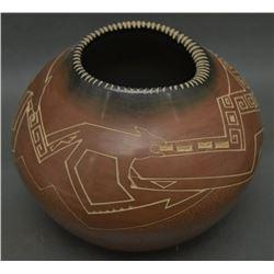 SANTA CLARA POTTERY JAR (FOLWELL)