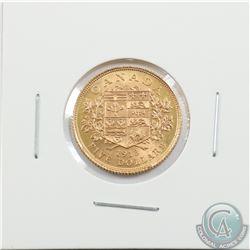 Canada 1913 $5 Gold Brilliant Uncirculated