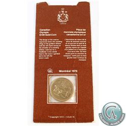 Canada 1976 Canada $100 Montreal Olympic 14k Gold Coin in Original Cardboard Holder