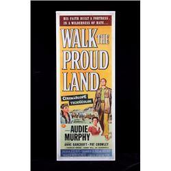 Original Walk the Proud Land Movie Poster 1956