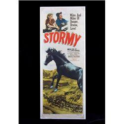 Original 1948 Stormy Movie Poster