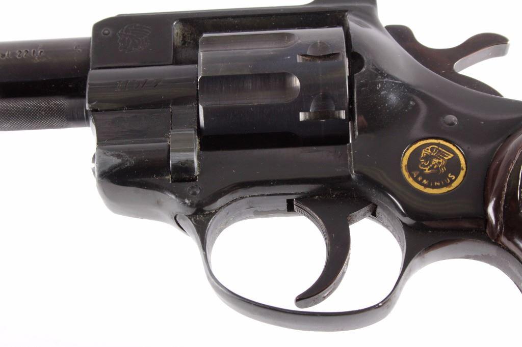 Arminius HW7  22 Double Action Revolver