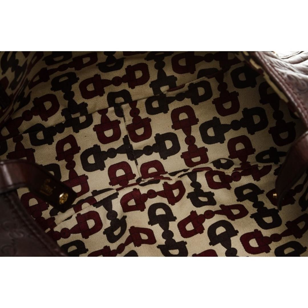 ffab277a979ec4 ... Image 6 : Gucci Burgundy Leather Guccissima Abbey Medium Tote Bag ...