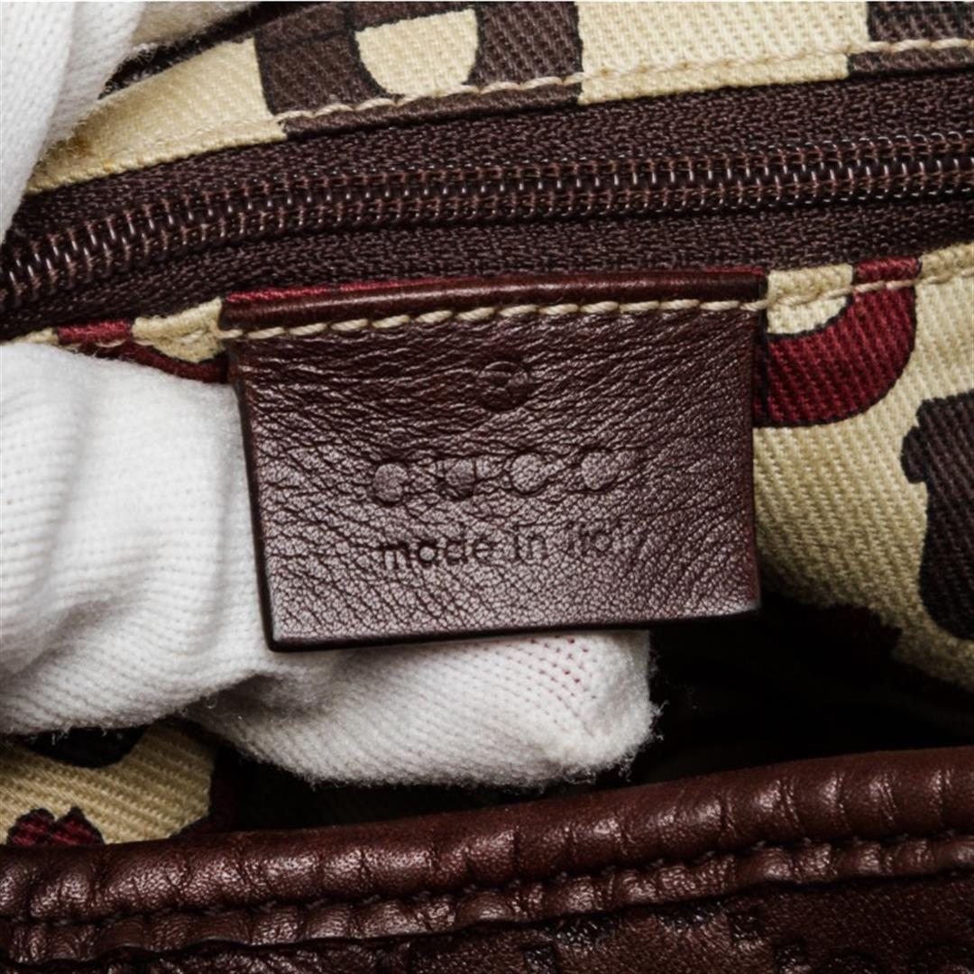 ab3e648038ad11 ... Image 7 : Gucci Burgundy Leather Guccissima Abbey Medium Tote Bag ...