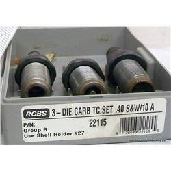 RCBS DIE SET40 S&W/ 10A