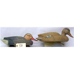 19 ASSORTED PUDDLE DUCK FLOATER DECOYS