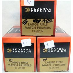 2400 FEDERAL LARGE RIFLE PRIMERS