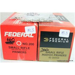 SMALL RIFLE PRIMERS