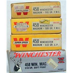 68 RNDS FACTORY 458 WIN MAGNUM