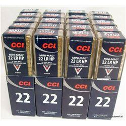 2000 RNDS CCI MINI MAG 22LR