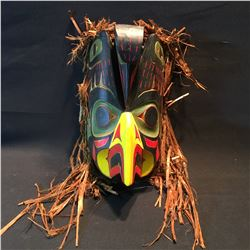 TONY GULBRANDSEN, OF THE TSIMSHIAN NATION IN PRINCE RUPERT, B.C., HAND CARVED AND PAINTED