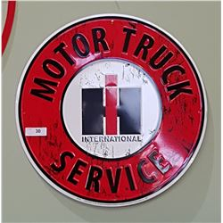INTERNATIONAL MOTOR TRUCK SERVICE SST SIGN