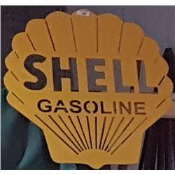 CUSTOM MADE SHELL GASOLINE SIGN