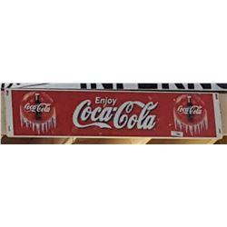 ORIGINAL COCA COLA COOLER SIGN