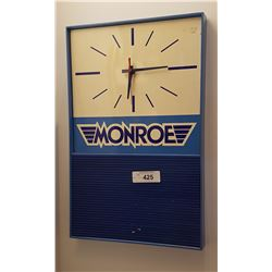 MONROE ADVERTISING CLOCK
