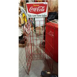 COCA COLA POP RACK