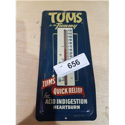 VINTAGE TUMS THERMOMETER