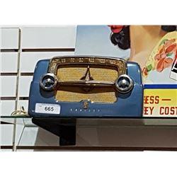 VINTAGE BLUE CROSLEY RADIO