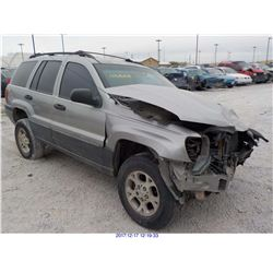 2000 - JEEP GRAND CHEROKEE LAREDO