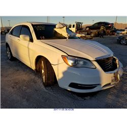 2012 - CHRYSLER 200 // SALVAGE TITLE // EXPORT ONLY
