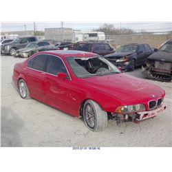 2001 - BMW 525I // REBUILT SALVAGE