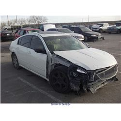 2007 - NISSAN MAXIMA // EXPORT ONLY