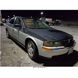 2000 - LINCOLN LS // REBUILT SALVAGE