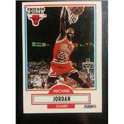 1990-91 FLEER #26 MICHAEL JORDAN