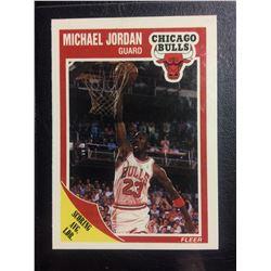 1989-90 FLEER #21 MICHAEL JORDAN