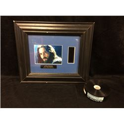 THE PASSION OF CHRIST ORIGINAL 35MM MOVIE CELL FRAMED & THERE'S SOMETHING ABOUT MARY TRAILER REEL