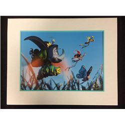 THE 1999 LITHOGRAPH COLLECTION  A BUGS LIFE  WALT DISNEY 14  X 11
