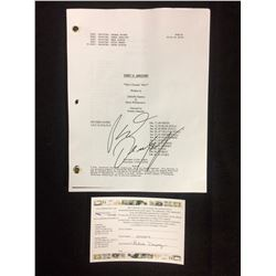 """PATRICK DEMPSEY AUTOGRAPHED GREY'S ANATOMY FINAL DRAFT SCRIPT """"WHO'S ZOOMIN' WHO?"""""""
