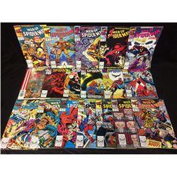 WEB OF SPIDER-MAN COMIC BOOK LOT (MARVEL COMICS)