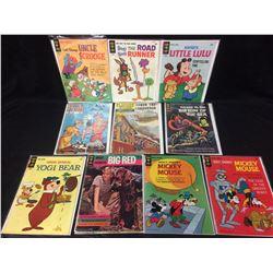 GOLD KEY & CLASSICS ILLUSTRATED COMIC BOOKS LOT