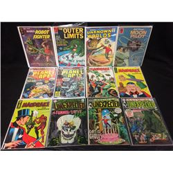 COMIC BOOK LOT (PLANET OF THE APES, UNEXPECTED, MANDRAKE & MORE)