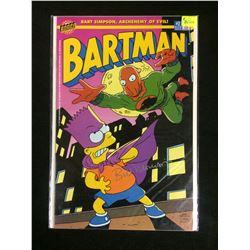 BARTMAN #2 COMIC BOOK (BONGO COMICS) AUTOGRAPHED BY ARTIST BILL MORISSON