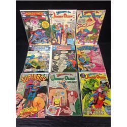 DC COMIC BOOK LOT (JIMMY OLSEN, SUPERBOY, WORLD'S FINEST)